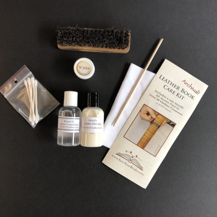 Leather Book Care Kit