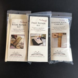 Book repair kits