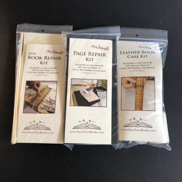 Book repair kits