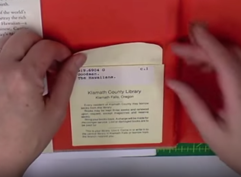 How to Remove a Modern Library Pocket