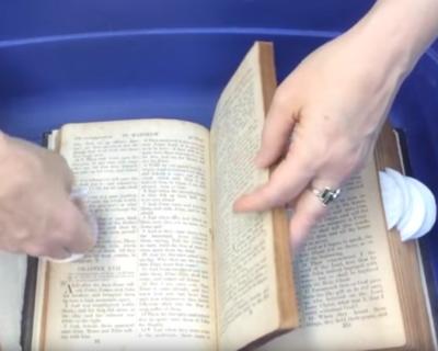 9-103: Deodorize Books