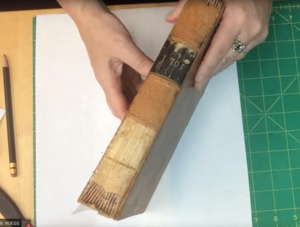 Quick Fix Preservation Re-back for Deteriorated Leather Book