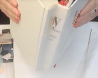 2-105a: Improve a Crumpled Book Spine