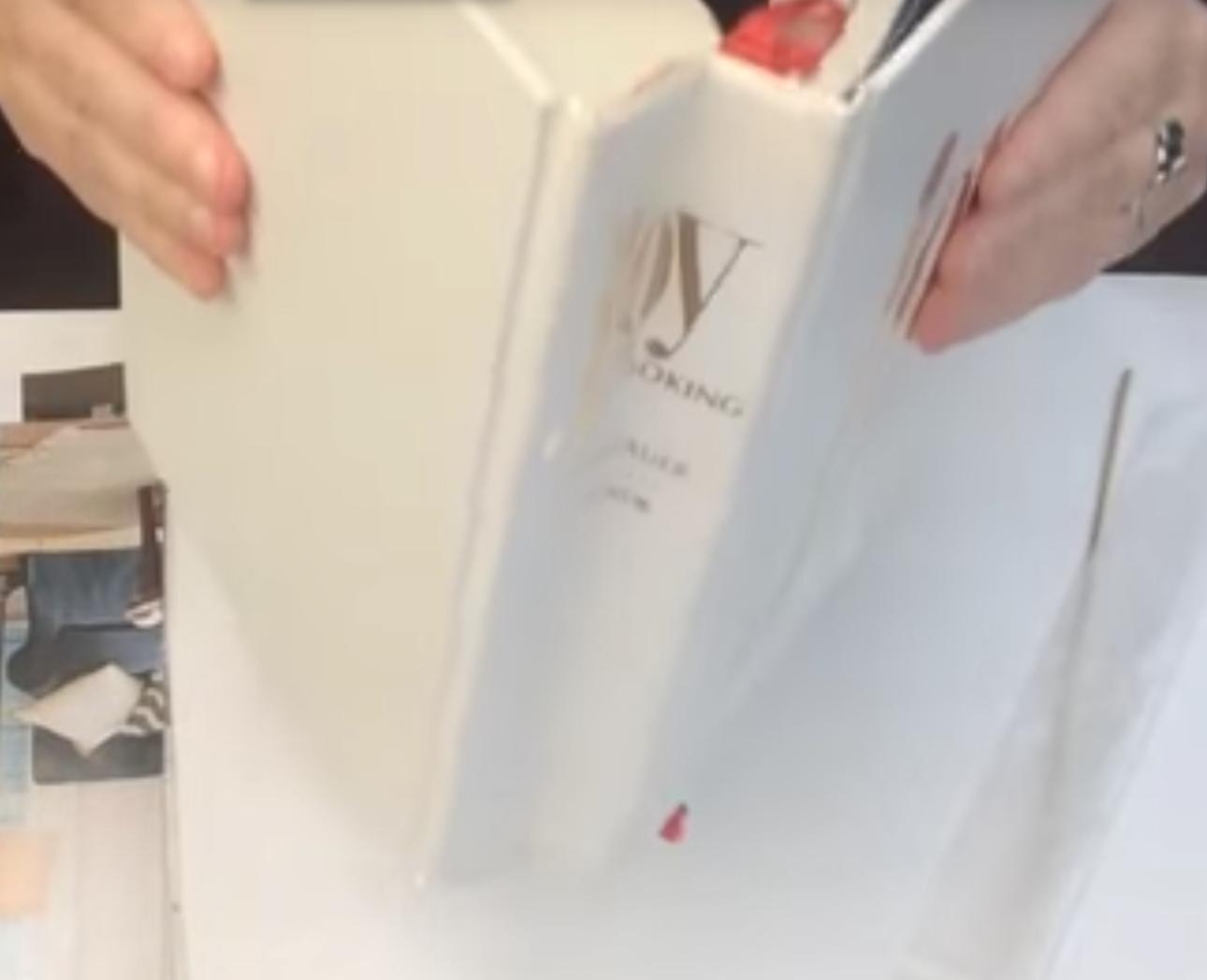 Improve a Crumpled Book Spine