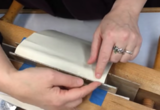 2-118b: Make a Hollow for Book Repairs