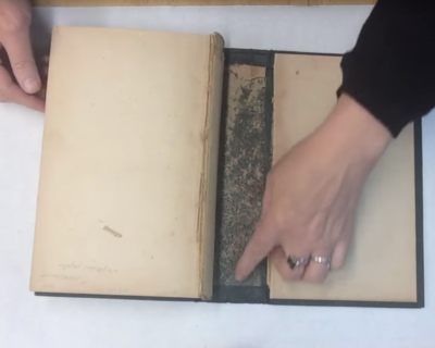 2-204: Re-case a 19th century Cloth-bound Book