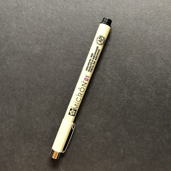 Pigma Micron 01 Pen