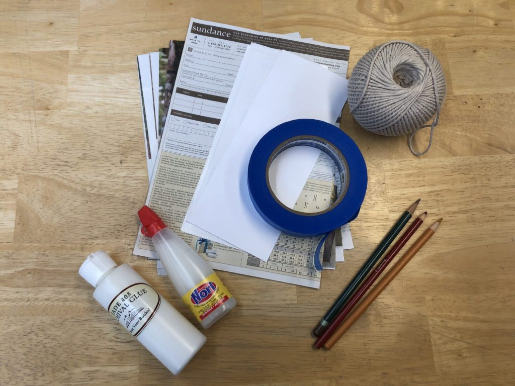 everyday book repair materials