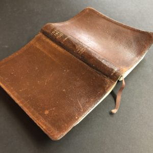 Bible repaired re-cased